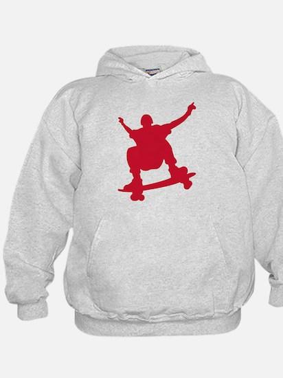 Skateboarder vintage Hoodie