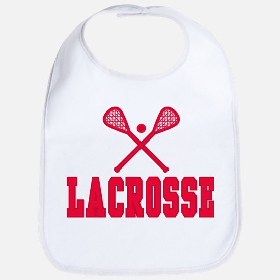 Red Lacrosse Bib
