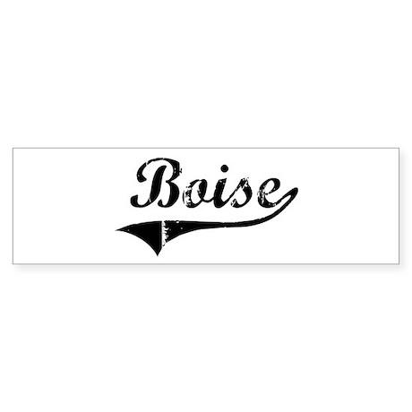 Boise (vintage) Bumper Sticker