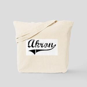 Akron (vintage) Tote Bag