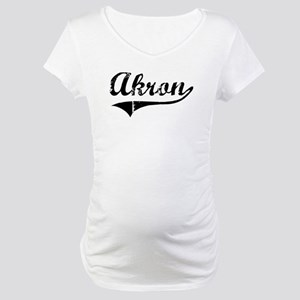 Akron (vintage) Maternity T-Shirt