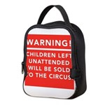 circus Neoprene Lunch Bag