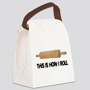 How I Roll Baking Canvas Lunch Bag