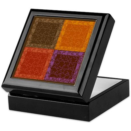 Puzzle Pieces - Keepsake Box