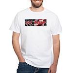 Got Torah w/American Flag White T-Shirt