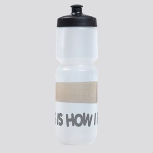 How I Roll Baking Sports Bottle