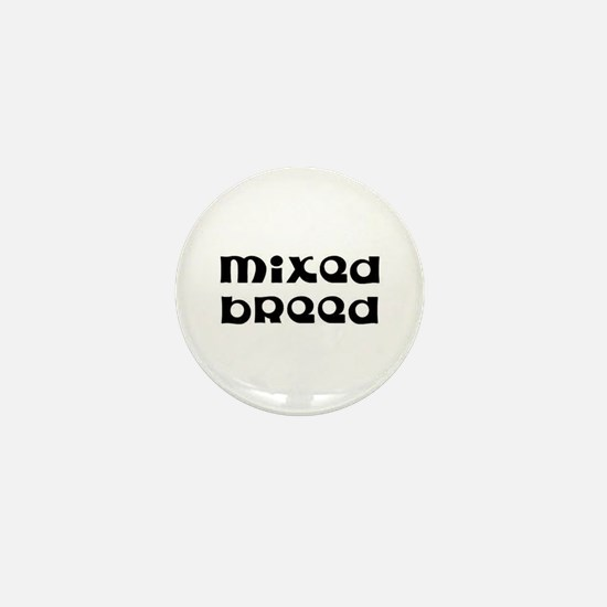 Mixed Breed Mini Button