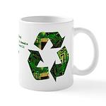 E-recycling Nerds, Geeks & Dweebs Mug