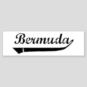 Bermuda (vintage) Bumper Sticker