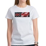 Got Torah w/American Flag Women's T-Shirt