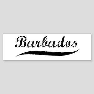 Barbados (vintage) Bumper Sticker