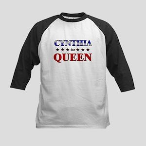 CYNTHIA for queen Kids Baseball Jersey