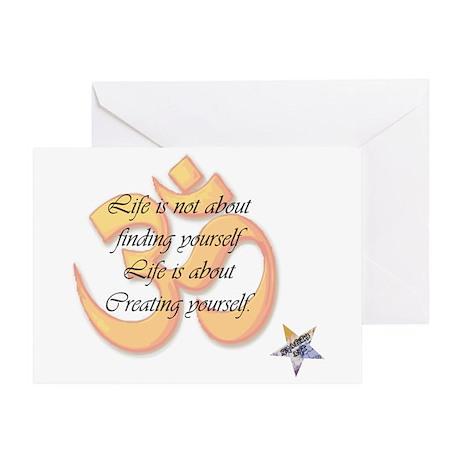 Creating Yourself Greeting Card