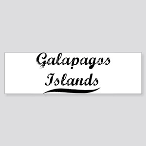 Galapagos Islands (vintage) Bumper Sticker