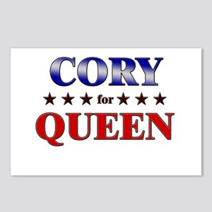CORY for queen Postcards (Package of 8)