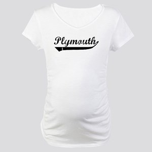 Plymouth (vintage) Maternity T-Shirt