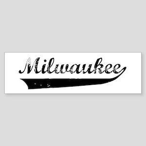 Milwaukee (vintage) Bumper Sticker