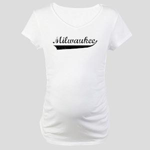 Milwaukee (vintage) Maternity T-Shirt
