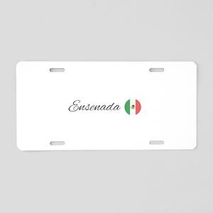 Ensenada Aluminum License Plate