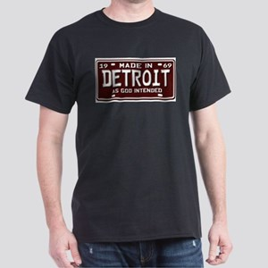 made in Detroit 1969 Ash Grey T-Shirt