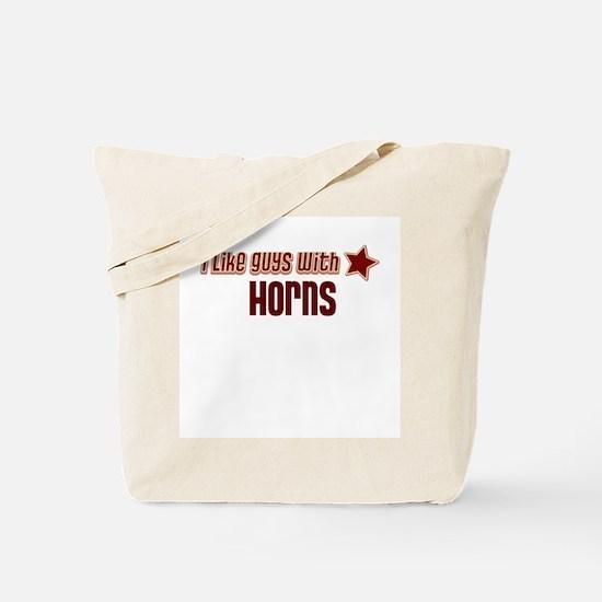 I like guys with Horns Tote Bag