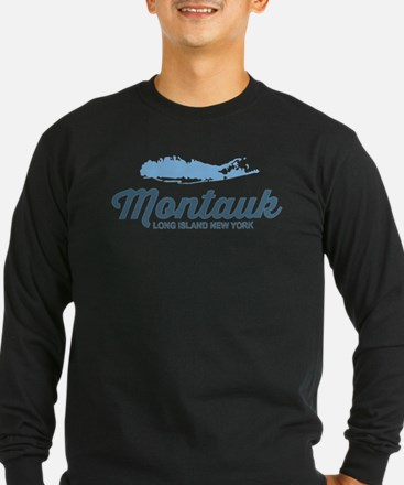 Montauk - Long Island. Long Sleeve T-Shirt