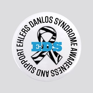 Ehlers Danlos Syndrome Ribbon Button