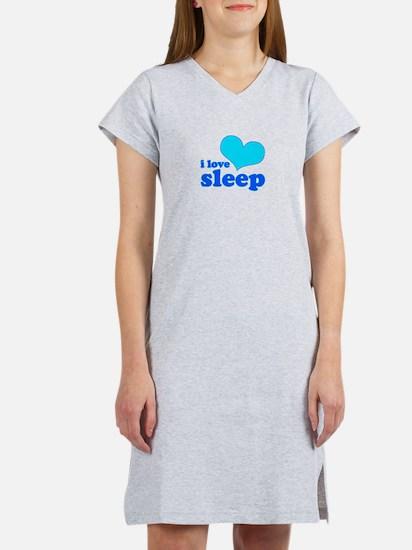 I Love Sleep (blue) T-Shirt
