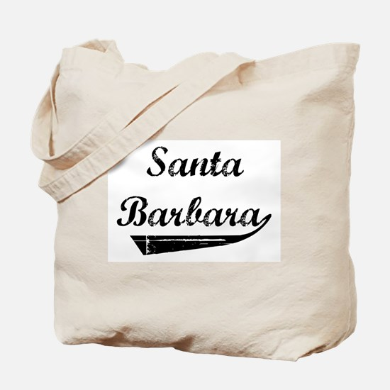 Santa Barbara (vintage] Tote Bag