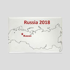 Kazan, Russia 2018 Magnets