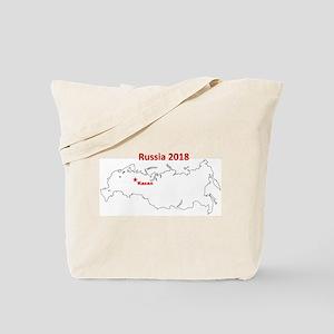 Kazan, Russia 2018 Tote Bag