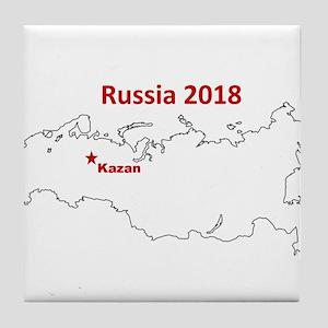 Kazan, Russia 2018 Tile Coaster