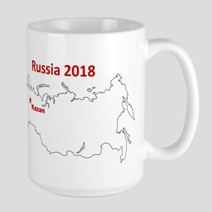 Kazan, Russia 2018 Mugs