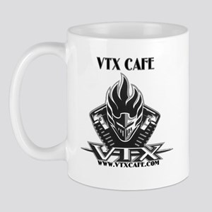 vtxcafelogo all black 2 Mugs