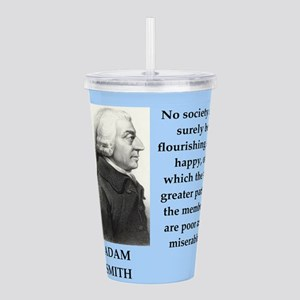 Adam Smith quote on gifts and t-shirts. Acrylic Do