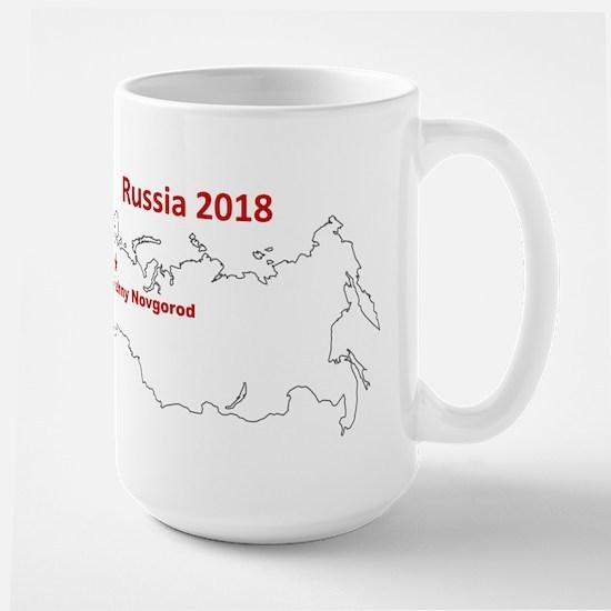 Nizhny Novgorod, Russia 2018 Mugs