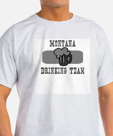 Montana Drinking Team T-Shirt