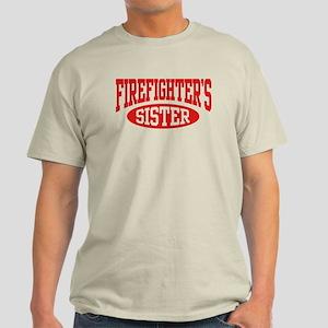FireFighter's Sister Light T-Shirt