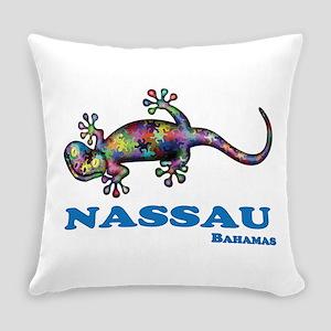 Nassau Gecko Everyday Pillow