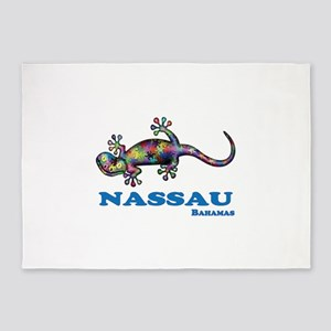 Nassau Gecko 5'x7'Area Rug