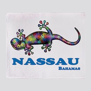 Nassau Gecko Throw Blanket