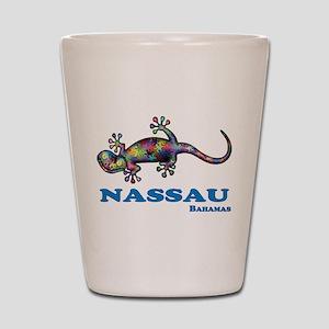 Nassau Gecko Shot Glass