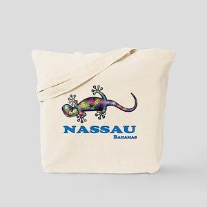 Nassau Gecko Tote Bag