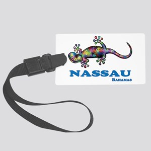 Nassau Gecko Large Luggage Tag