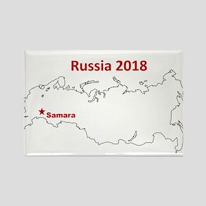 Samara, Russia 2018 Magnets