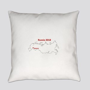 Samara, Russia 2018 Everyday Pillow