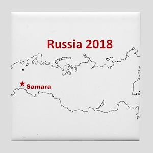 Samara, Russia 2018 Tile Coaster