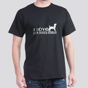 I Love Jack Russell Terrier Dark T-Shirt