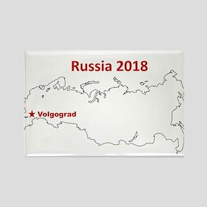 Volgograd, Russia 2018 Magnets