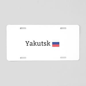 Yakutsk Aluminum License Plate